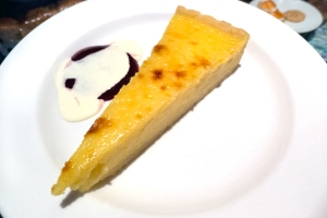 sliced tart