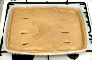 goose and lamb pie