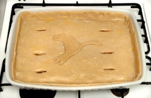 goose and lamb pie