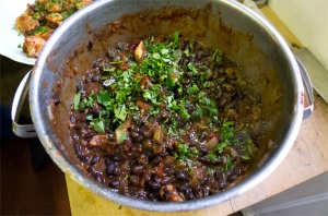 black bean chilli