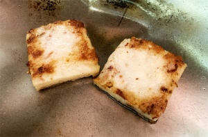 cooking turnip cakes