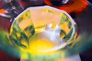 lemon and mint tea
