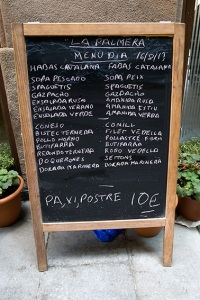 menu dia