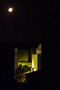 moon over barcelona