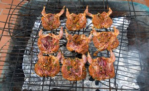 quail barbecue