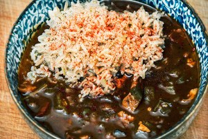 gumbo with rice
