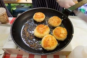 salt cod fritter