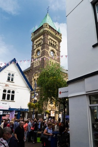 abergavenny clock tower