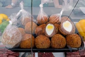 venison scotch eggs