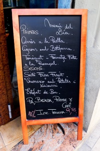 catalan menu