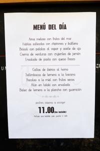 quinua menu