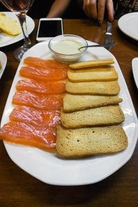 lomos de salmón ahumado