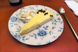 tarta semifria de limon
